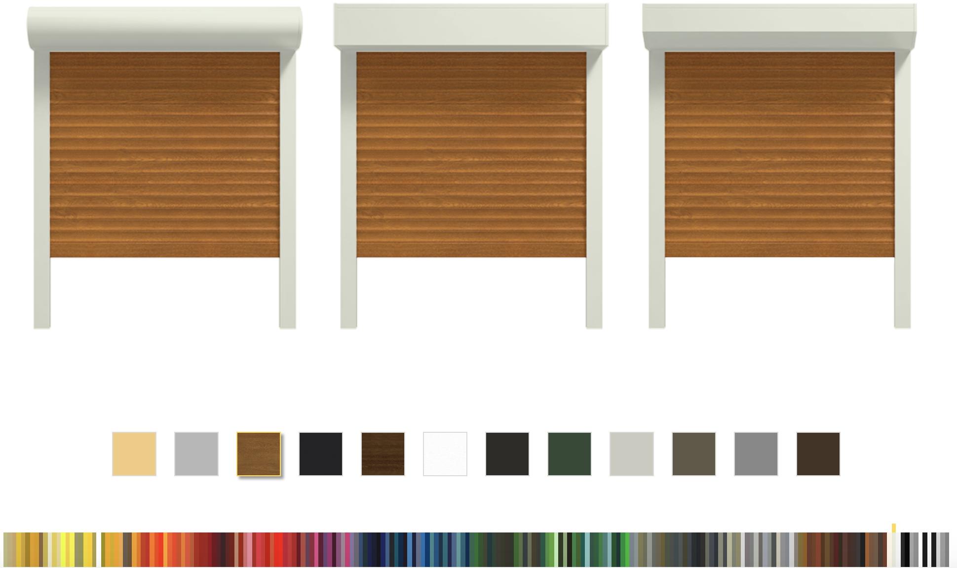 colori avvolgibili in pvc