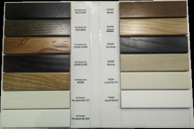 colori infissi legno