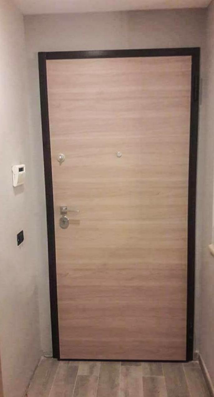 Porte blindate Palermo in legno artigianale - La Porta che ...