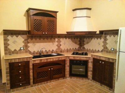 Cucine legno artigianali palermo 3