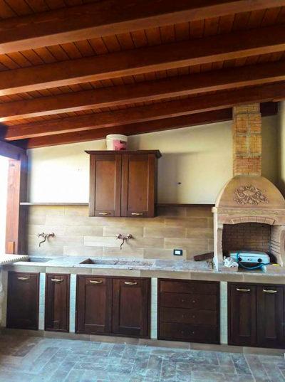 Cucine legno artigianali palermo 5