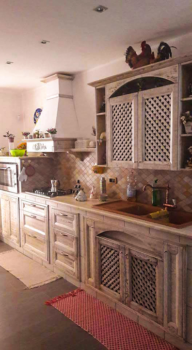 Cucine legno artigianali palermo 8