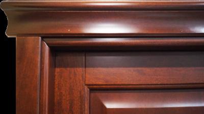 cornice porta classica con capitello