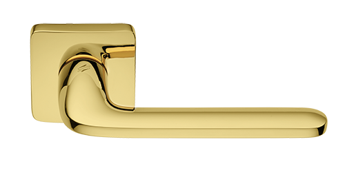 maniglia roboquattroS dorata lucida