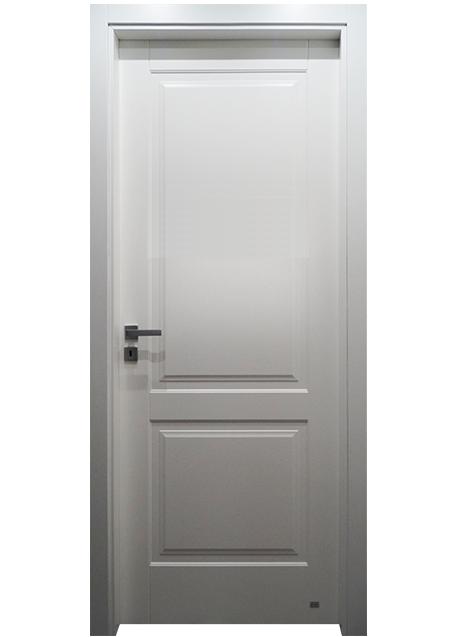 Porta 2 riquadri pantografata