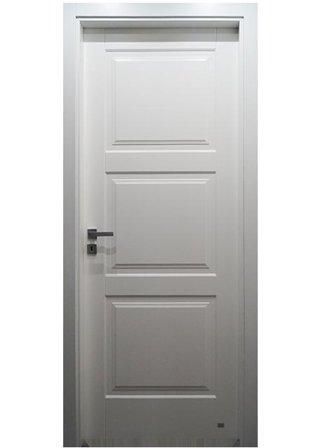 Porta 3 riquadri pantografata