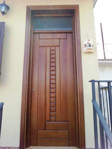 Porte Blindate Palermo In Legno Artigianale La Porta Che